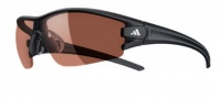Adidas Evil Eye Half Rim XS Sunglasses Sunglasses - 6061 Matte Black / LST Polarized silver