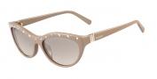 Valentino V641S Sunglasses Sunglasses - 290 Nude