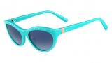 Valentino V641S Sunglasses Sunglasses - 440 Soft Turquoise