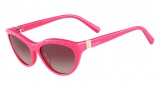 Valentino V641S Sunglasses Sunglasses - 528 Pop Fuchsia