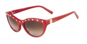 Valentino V641S Sunglasses Sunglasses - 613  Red