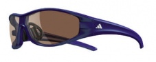 Adidas Little Evil Sunglasses Sunglasses - 6052 Purple / LST Contrast Silver