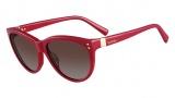 Valentino V642S Sunglasses Sunglasses - 525 Fuchsia