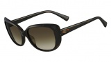 Valentino V644S Sunglasses Sunglasses - 215 Dark Havana