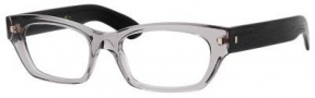 Yves Saint Laurent 6333 Eyeglasses Eyeglasses - Gray Transparent