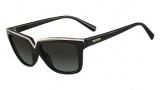Valentino V646SR Sunglasses Sunglasses - 001 Black