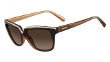Valentino V646SR Sunglasses Sunglasses - 210 Brown