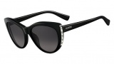 Valentino V648S Sunglasses Sunglasses - 001 Black