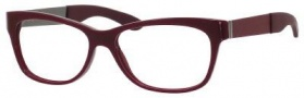 Yves Saint Laurent 6367 Eyeglasses Eyeglasses - Opal Burgundy Red