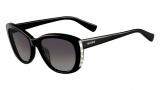 Valentino V649S Sunglasses Sunglasses - 001 Black