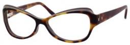 Yves Saint Laurent 6369 Eyeglasses Eyeglasses - Havana Beige Gray