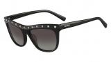 Valentino V650S Sunglasses Sunglasses - 001 Black