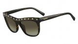 Valentino V650S Sunglasses Sunglasses - 215 Dark Havana