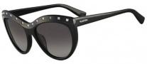 Valentino V651S Sunglasses Sunglasses - 001 Black