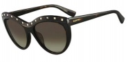 Valentino V651S Sunglasses Sunglasses - 215 Dark Havana