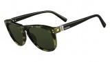 Valentino V652S Sunglasses Sunglasses - 202 Camouflage / Black