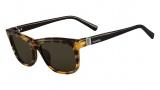 Valentino V653S Sunglasses Sunglasses - 200 Vintage Havana / Black