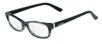 Valentino V2618 Eyeglasses Eyeglasses - 059 Striped Grey
