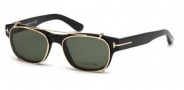 Tom Ford FT5276 Eyeglasses Eyeglasses - 001 Shiny Black