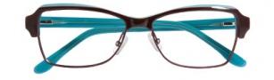 BCBG Max Azria Adriana Eyeglasses Eyeglasses - BRO Brown Laminate
