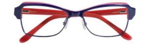 BCBG Max Azria Adriana Eyeglasses Eyeglasses - NAV Navy Laminate