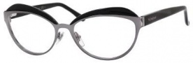Yves Saint Laurent 6371 Eyeglasses Eyeglasses - Dark Ruthenium / Black