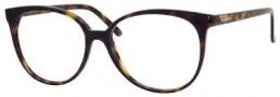 Yves Saint Laurent 6372 Eyeglasses Eyeglasses - Dark Havana