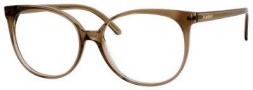 Yves Saint Laurent 6372 Eyeglasses Eyeglasses - Transparent Brown