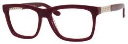 Yves Saint Laurent 6382 Eyeglasses Eyeglasses - Opal Burgundy