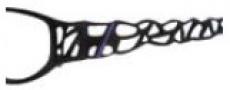 BCBG Max Azria Adalina Eyeglasses Eyeglasses - BLA Black