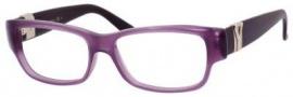 Yves Saint Laurent 6383 Eyeglasses Eyeglasses - Violet Plum