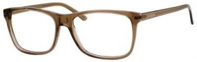Yves Saint Laurent 6384 Eyeglasses Eyeglasses - Transparent Brown