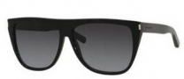 Yves Saint Laurent Sl 1/S Sunglasses Sunglasses - 0807 Black (JO gray bronze mirror lens)