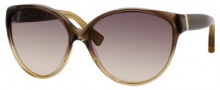 Yves Saint Laurent 6336/S Sunglasses Sunglasses - Brown Orange Amber