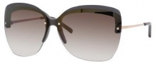 Yves Saint Laurent 6338/S Sunglasses Sunglasses - Gray Red Gold