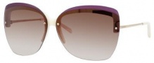 Yves Saint Laurent 6338/S Sunglasses Sunglasses - Ivory Gold