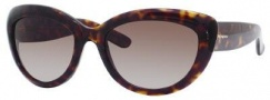 Yves Saint Laurent 6349/S Sunglasses Sunglasses - Dark Havana