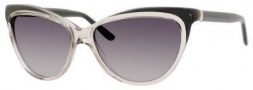 Yves Saint Laurent 6358/S Sunglasses Sunglasses - Transparent Gray