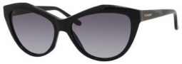 Yves Saint Laurent 6374/S Sunglasses Sunglasses - Black