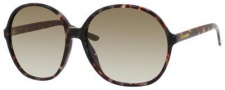 Yves Saint Laurent 6380/S Sunglasses Sunglasses - Havana Olive