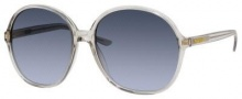 Yves Saint Laurent 6380/S Sunglasses Sunglasses - Transparent Gray