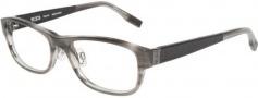 Tumi T304 Eyeglasses Eyeglasses - Grey Horn