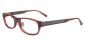 Tumi T306AF Eyeglasses Eyeglasses - Ruby