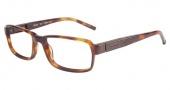 Tumi T308 Eyeglasses Eyeglasses - Amber Tortoise