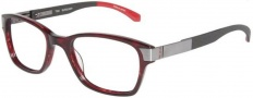 Tumi T302 Eyeglasses Eyeglasses - Burgundy