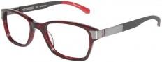 Tumi T302AF Eyeglasses Eyeglasses - Burgundy