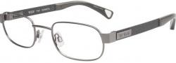 Tumi T104 Eyeglasses Eyeglasses - Gunmetal