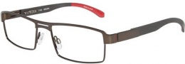 Tumi T103 Eyeglasses Eyeglasses - Brown