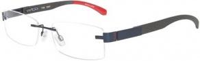 Tumi T102 Eyeglasses Eyeglasses - Navy