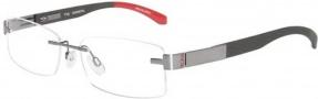 Tumi T102 Eyeglasses Eyeglasses - Gunmetal